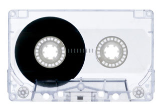 Cassette tape by Artist Unknown