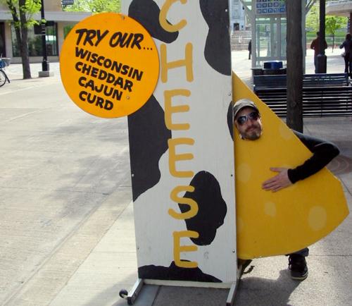 Wisconsin Cheddar Cajun Curd