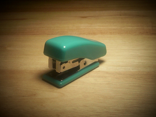 Stapler in Spotlight by