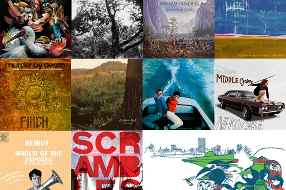 My Top 10 albums for 2009.