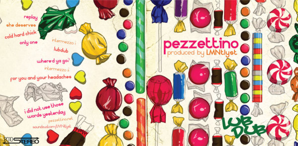 Pezzettino's Lub Dub album cover