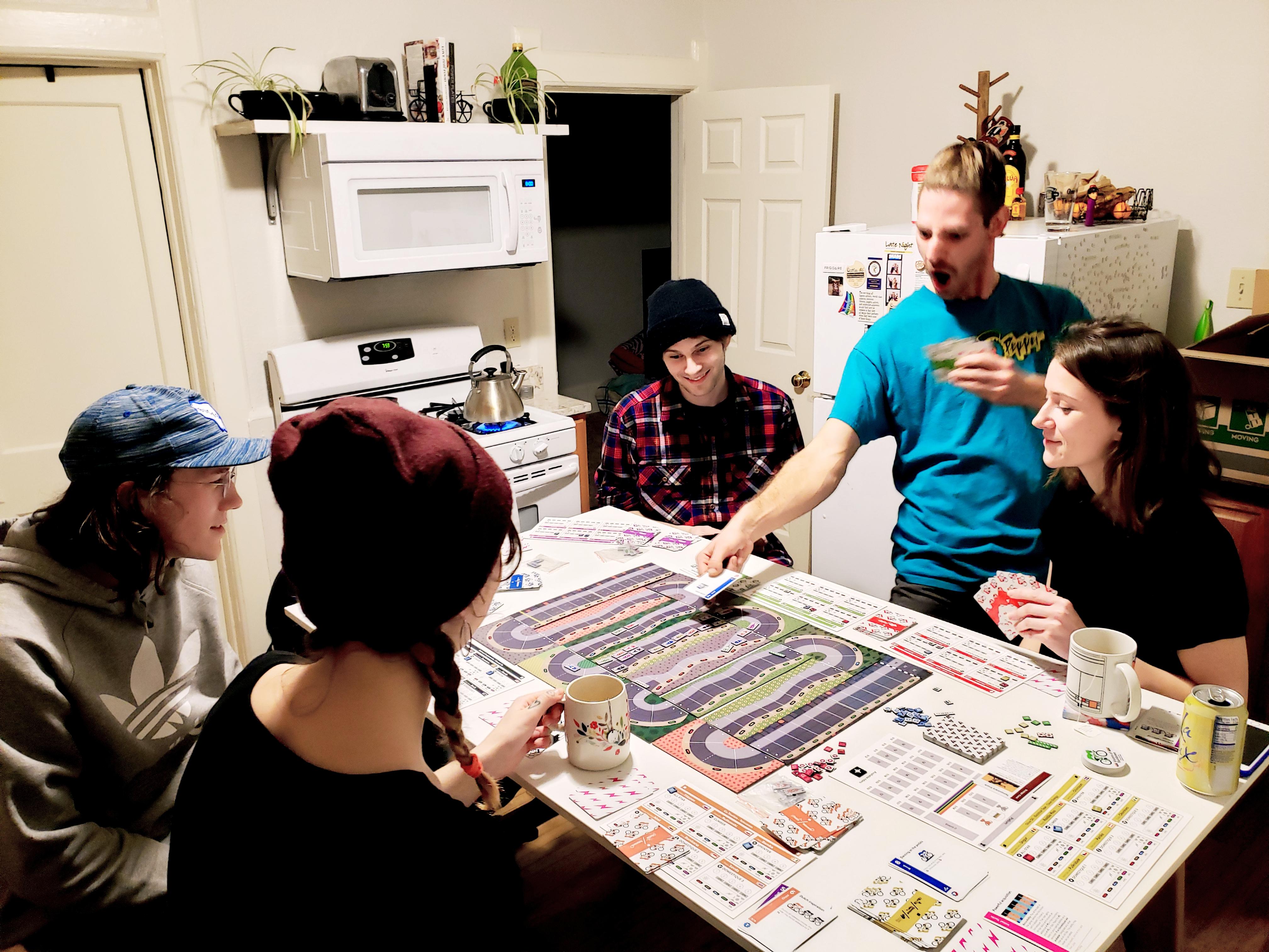 Why design a board game?