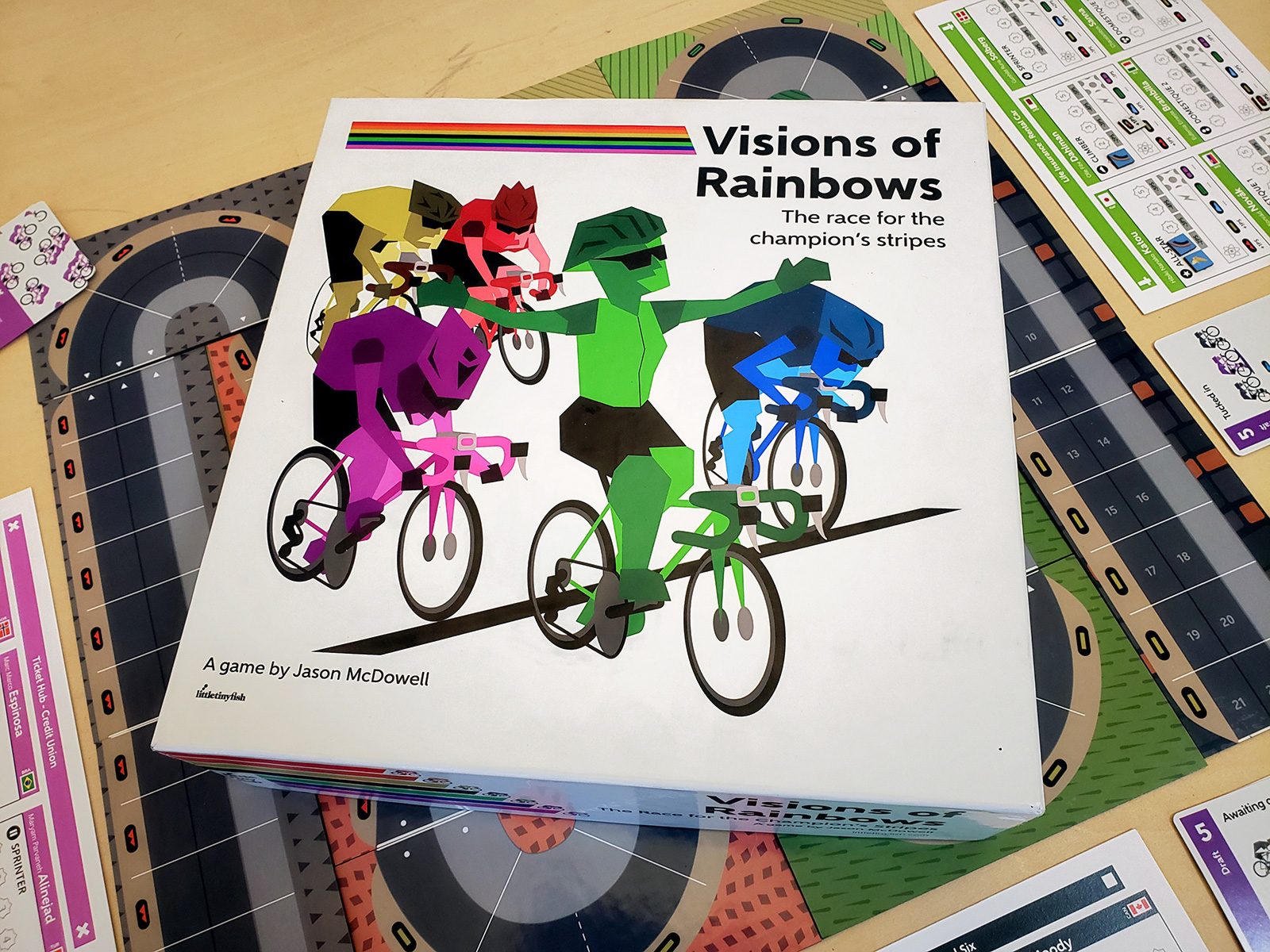 Visions of Rainbows board game to launch funding campaign in January 2020 –  Press Release – 12/22/2019